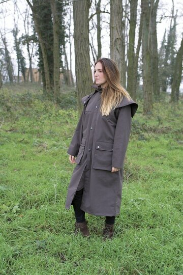 Equitheme long raincoat