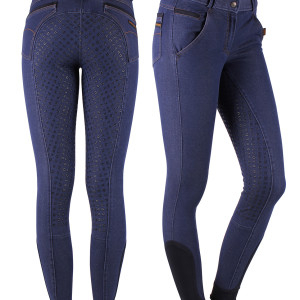 QHP Denim anti-slip, koko 44
