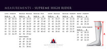 Mountain Horse Supreme High Rider 36-38
